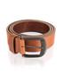 Men's tan leather belt Sale - woodland leather Sale