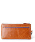 Tan zip-top wallet  Sale - hautton Sale