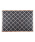 Black cotton double rug 250 x 160cm Sale - duo rugs Sale