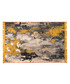 Grey & yellow cotton rug 250 x 160cm Sale - duo rugs Sale