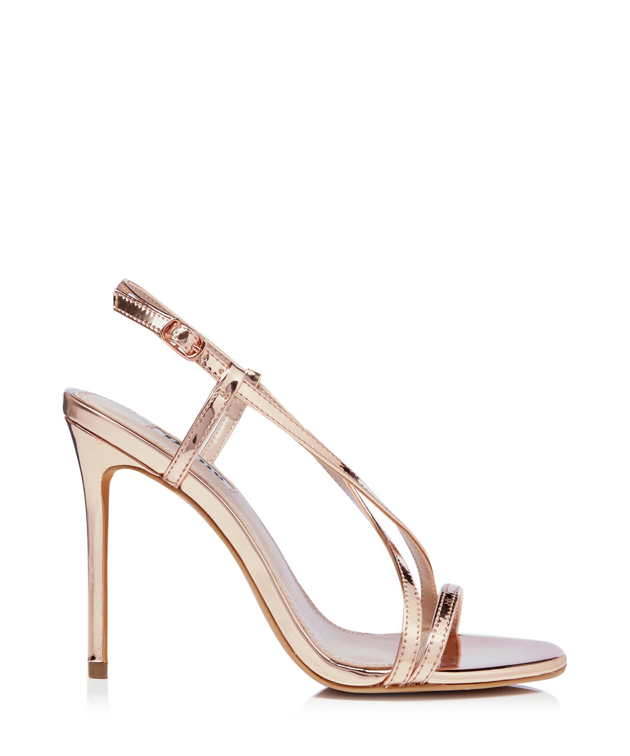 Madeena rose gold strappy stiletto heels Sale - dune