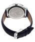Blue leather numeral watch Sale - akribos XXIV Sale