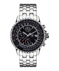 Universe black dial watch