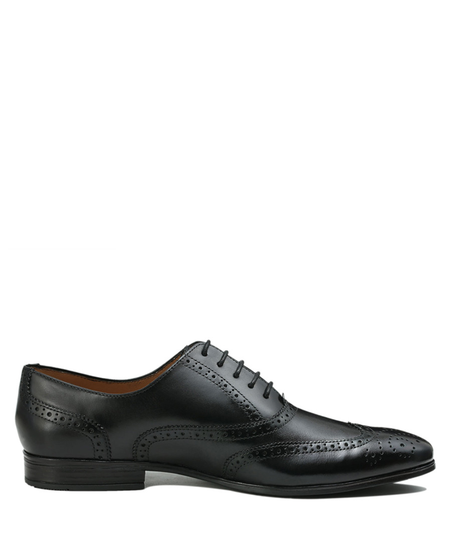 Isacco black leather lace-up shoes Sale - Roberto Renzo