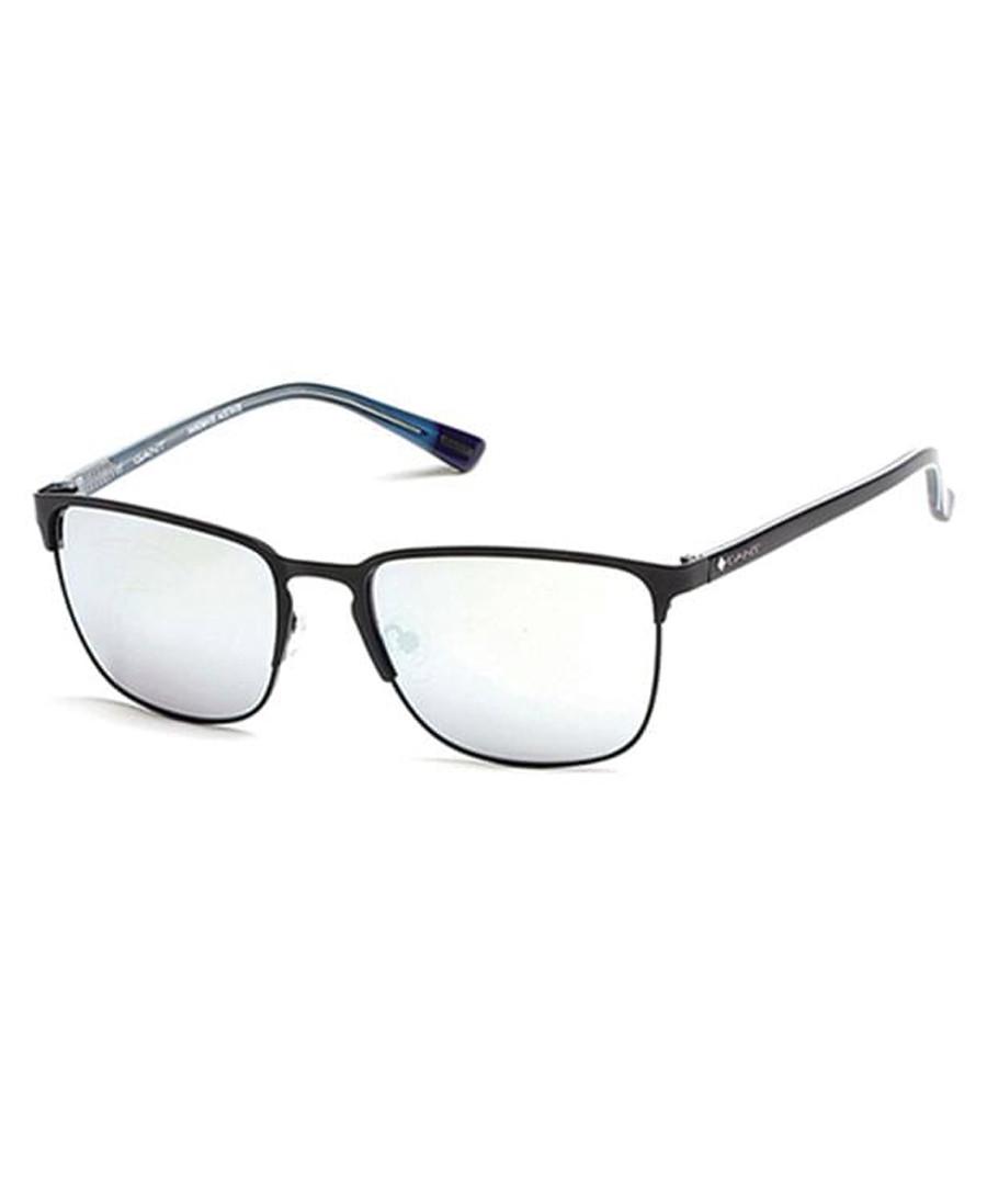 Black thin frame sunglasses Sale - gant