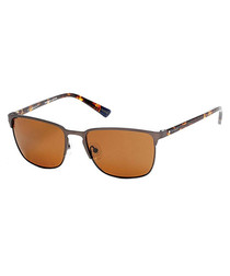 Tortoiseshell & orange sunglasses