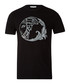Black pure cotton print T-shirt Sale - versace collection Sale