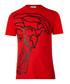 Red pure cotton print T-shirt Sale - versace collection Sale