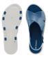 Women's Match blue crossover sandals Sale - zaxy Sale