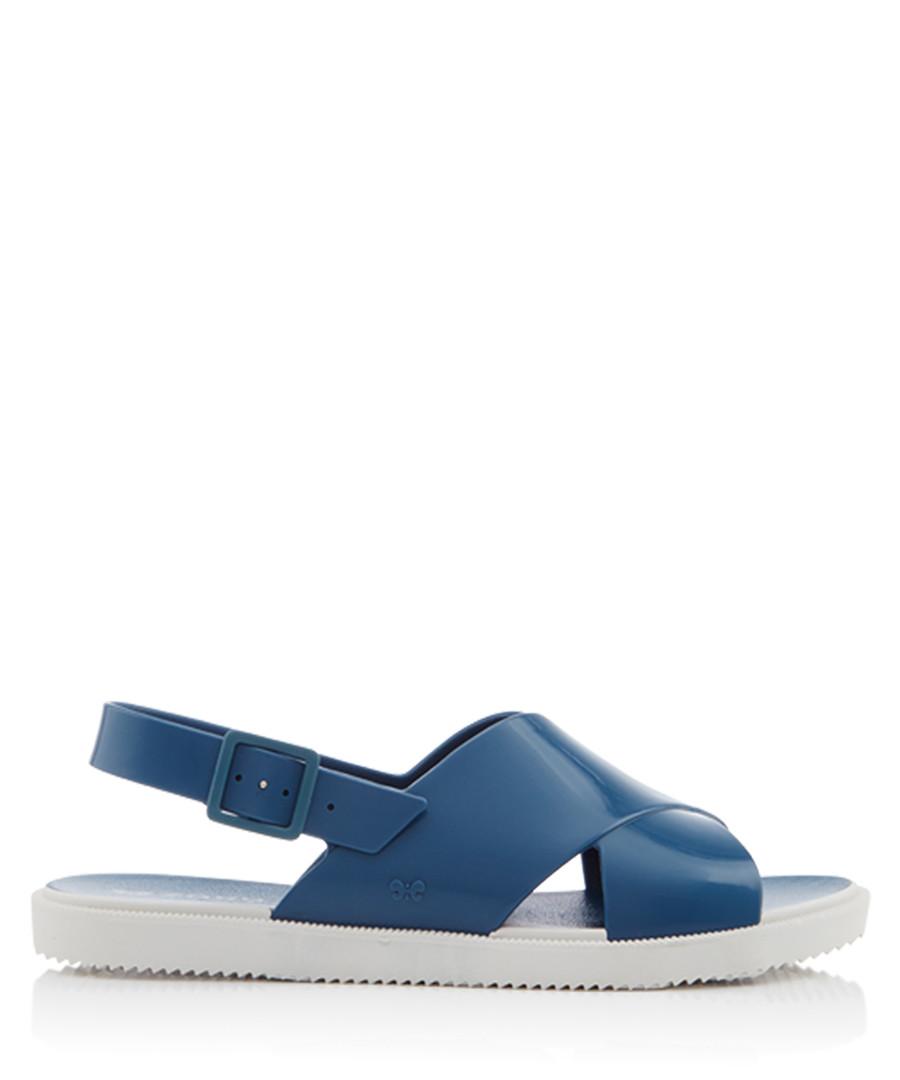 Women's Match blue crossover sandals Sale - zaxy