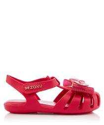 Girl's Glamour pink sandals