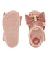 Girl's Glamour Bow blush sandals Sale - zaxy Sale
