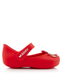 Girl's Tour red ballet flats