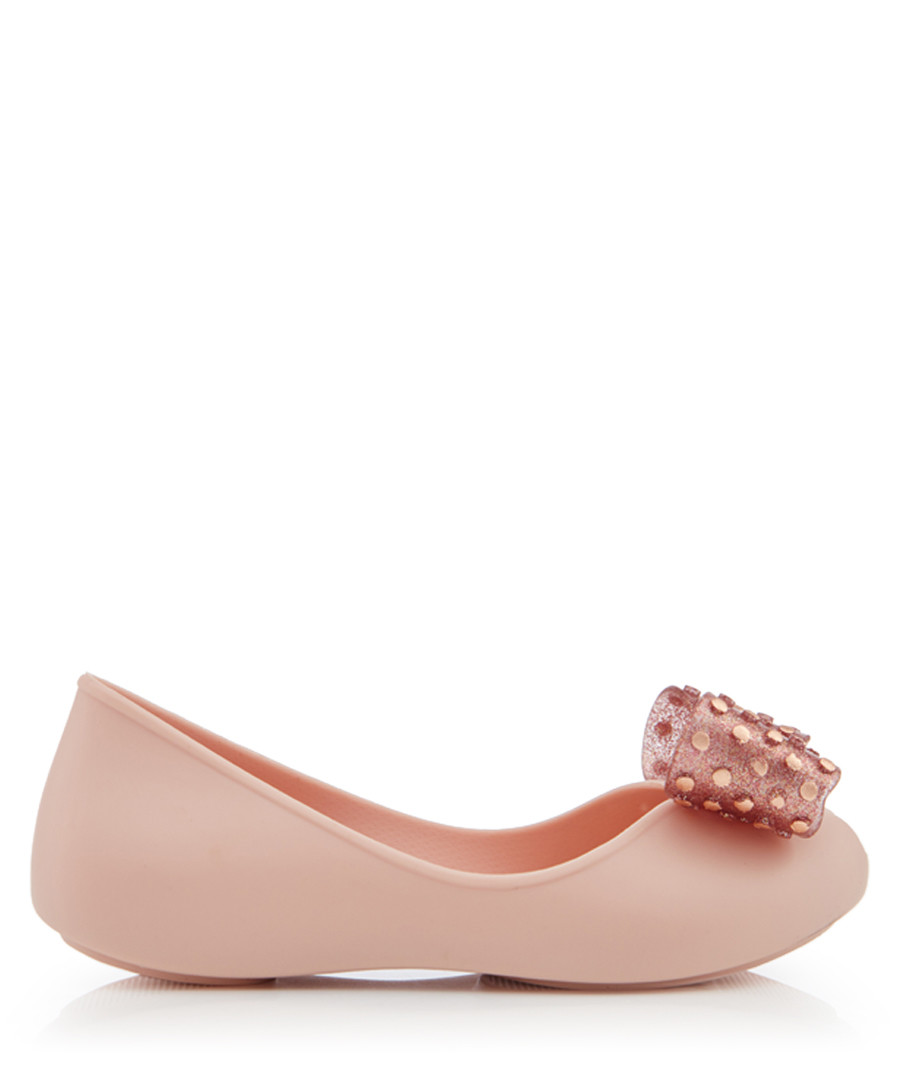 Girl's Confetti blush ballet flats Sale - zaxy