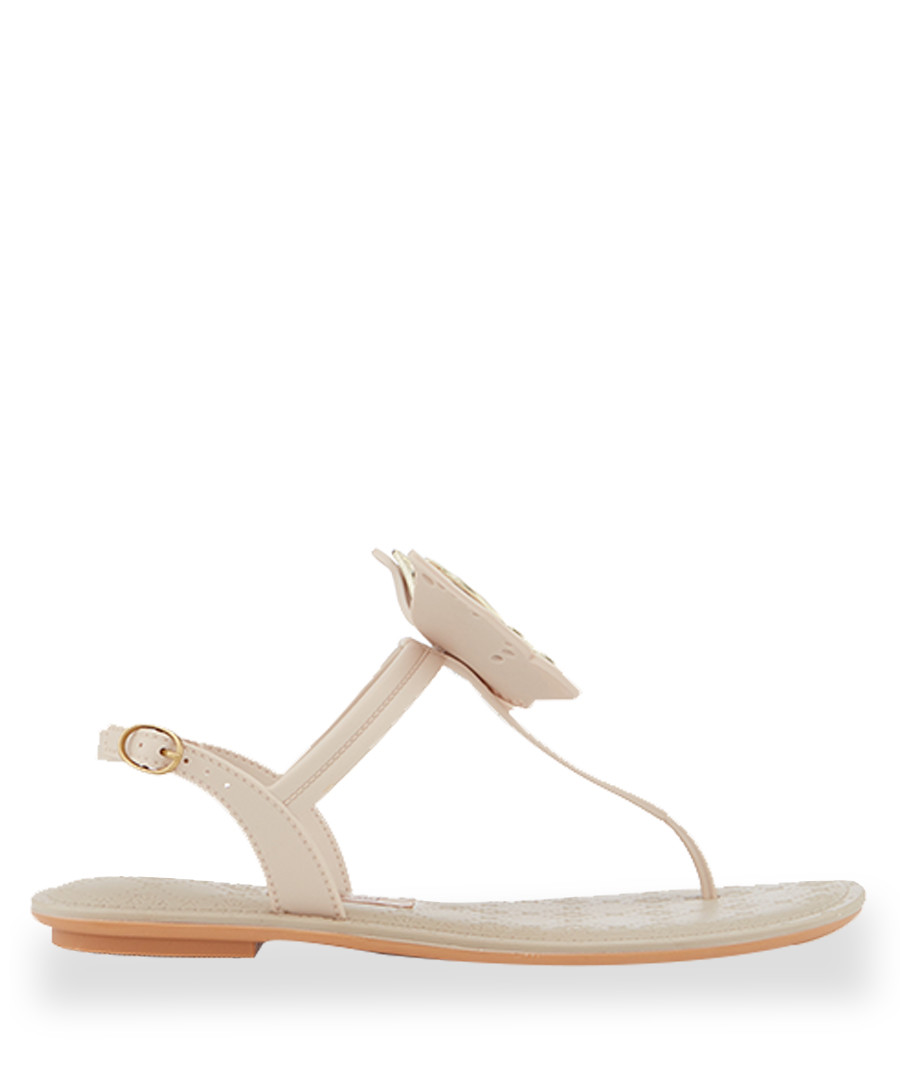 Sense nude butterfly T bar sandals  Sale - grendha