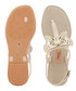 Sense nude butterfly T bar sandals  Sale - grendha Sale