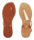 Sense gold-tone T bar sandals Sale - grendha Sale