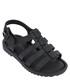 Girls' Mini Flox black cage sandals Sale - mini melissa Sale