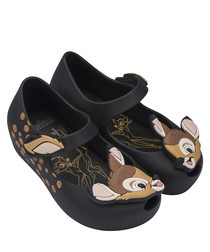 Girl's Mini Ultragirl black bambi shoes