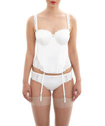 Serenity ivory lace basque