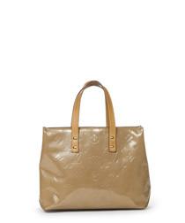 Reade beige monogram grab bag