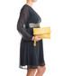 Yellow leather moc-croc fold clutch bag Sale - mila blu Sale