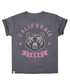 Girl's California grey cotton T-shirt Sale - Varsity Team Players Sale