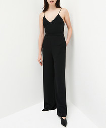 Jubilee black strappy jumpsuit