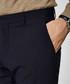 Dark navy wool blend trousers Sale - SELECTED HOMME Sale