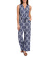 Calithea navy print V-neck jumpsuit Sale - new york collective Sale