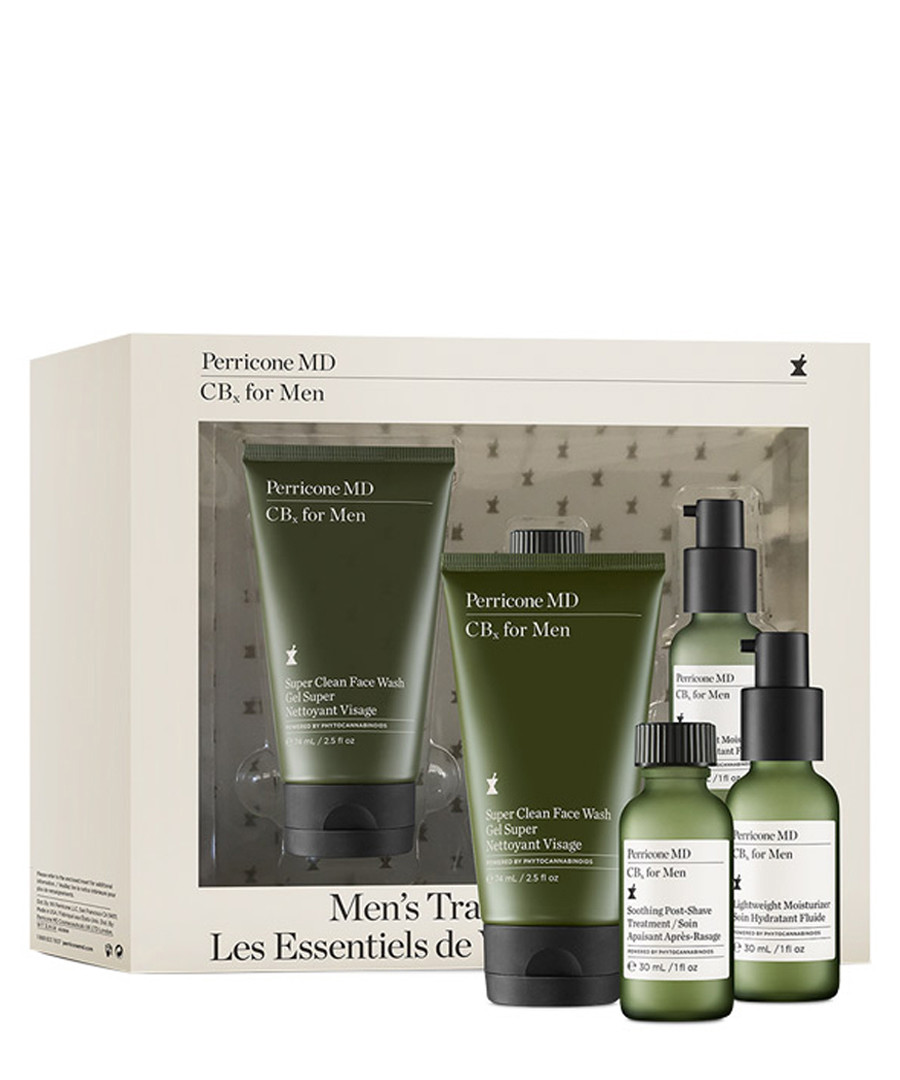 3pc CBx for men travel starter kit Sale - perricone md