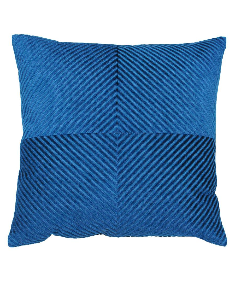 Infinity petrol cushion cover  Sale - paoletti