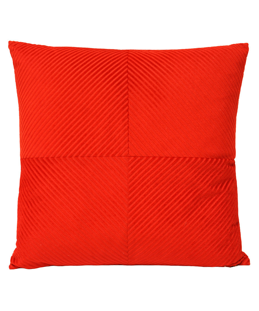 Infinity red cushion cover  Sale - paoletti