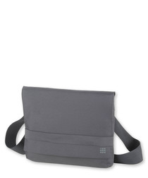Large grey shoulder bag