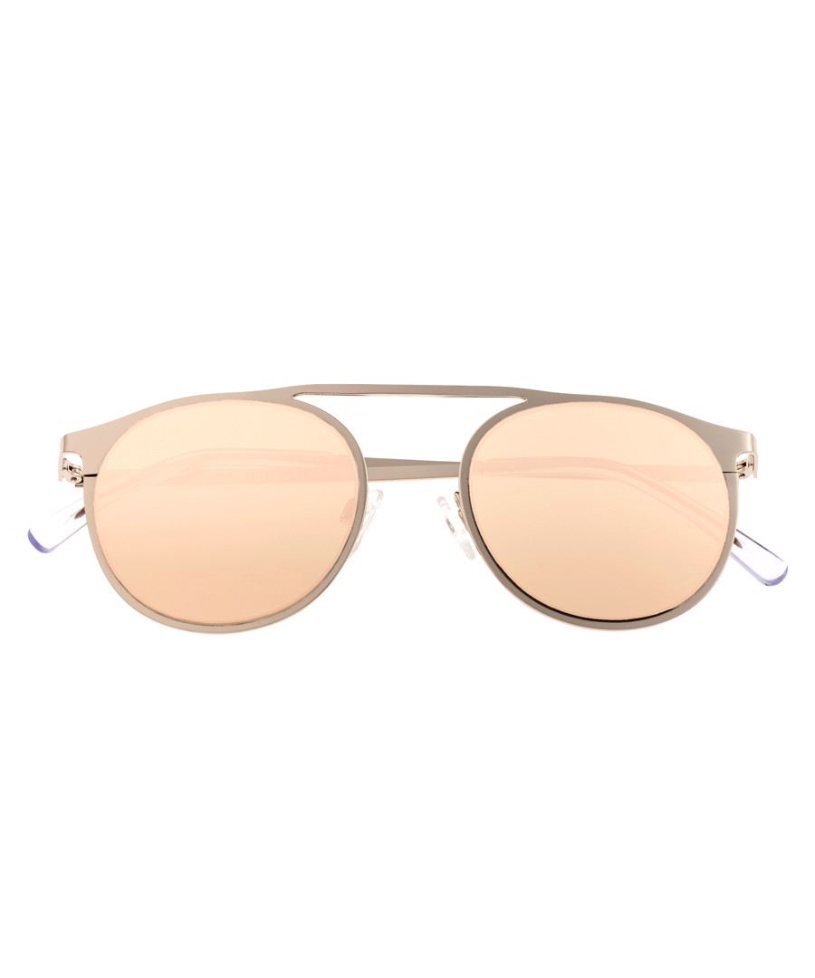 Avalon silver-tone rounded sunglasses Sale - sixty one