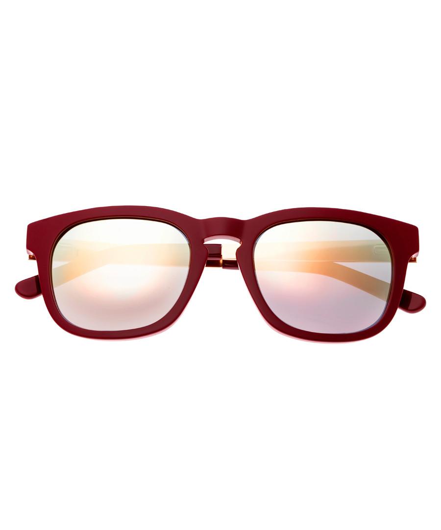 Twinbow burgundy wayfarer sunglasses Sale - sixty one