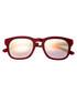 Twinbow burgundy wayfarer sunglasses Sale - sixty one Sale