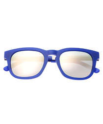 Twinbow periwinkle blue sunglasses