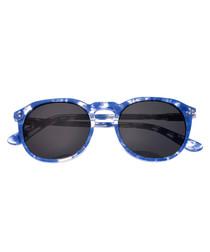 Vieques blue tortoiseshell sunglasses