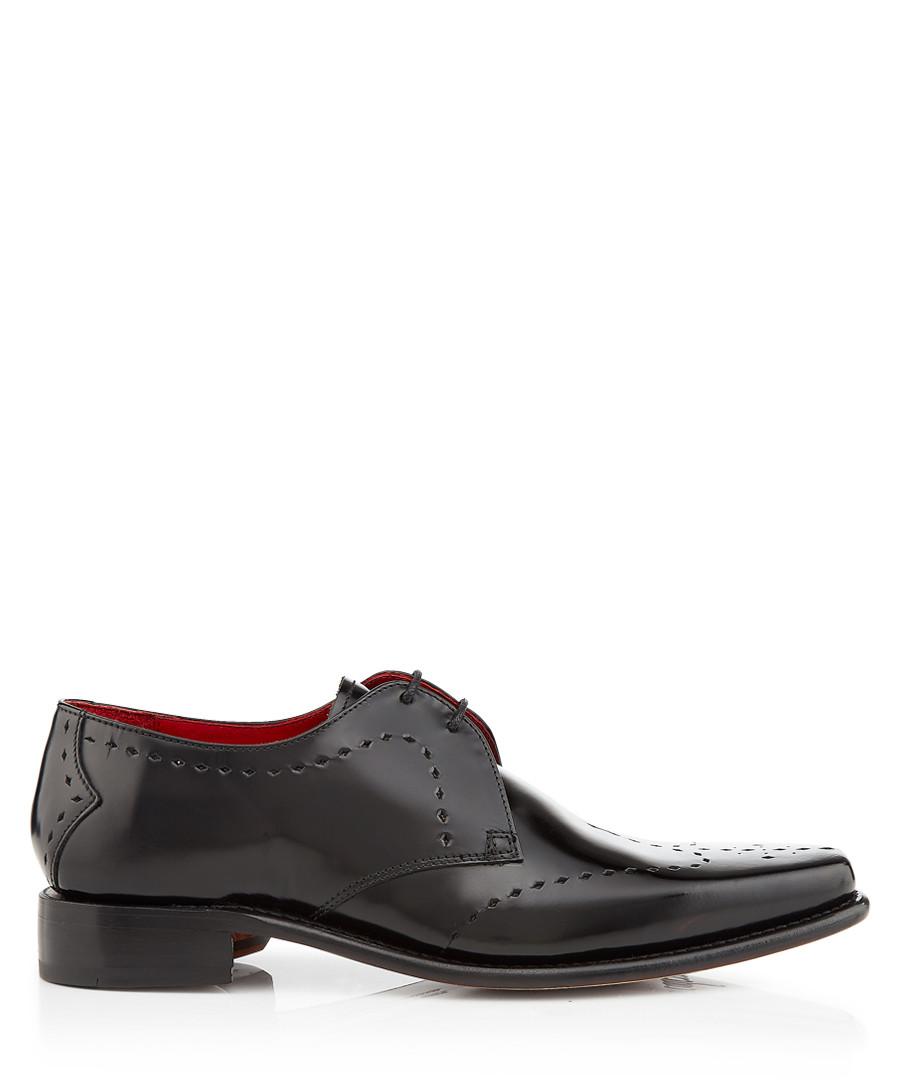Cocker black leather Derby shoes Sale - jeffery west