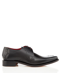 Cocker black leather Derby shoes