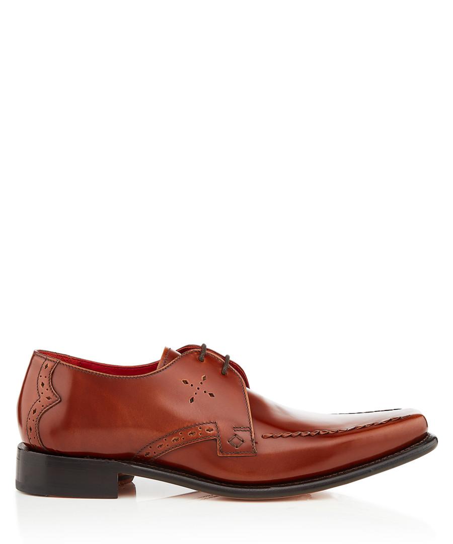 Cocker tan leather Derby shoes Sale - jeffery west