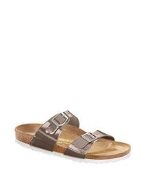 Sydney brown narrow sandals