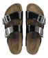 Arizona black double strap sandals Sale - birkenstock Sale