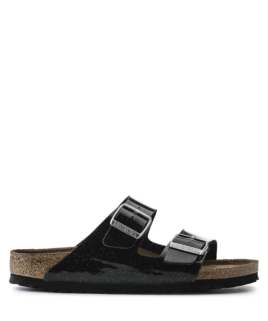 Arizona black double strap sandals Sale - birkenstock
