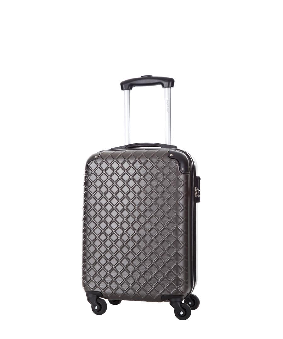 Grey spinner suitcase 46cm Sale - steve miller