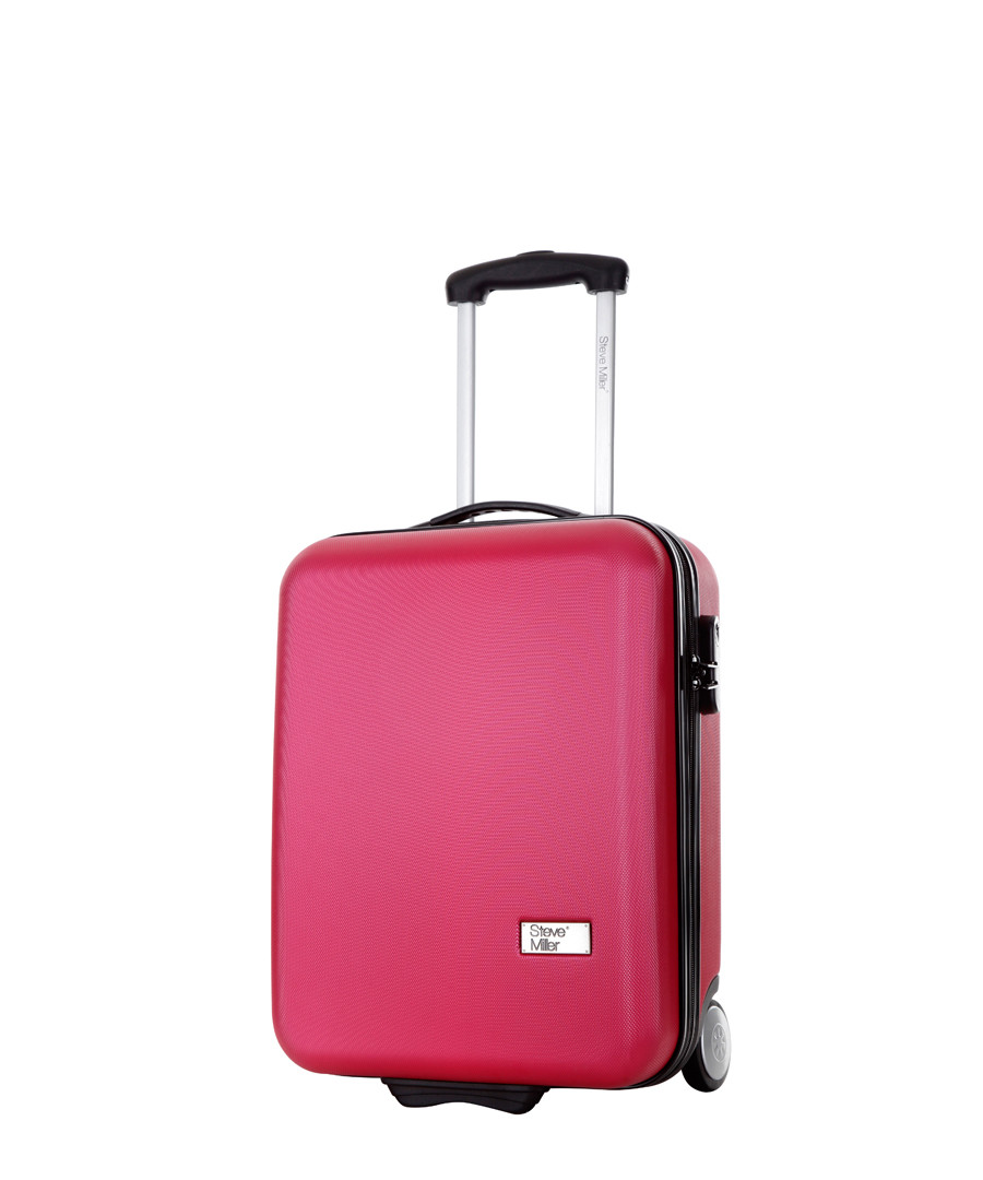 Fuchsia upright suitcase 48cm Sale - steve miller