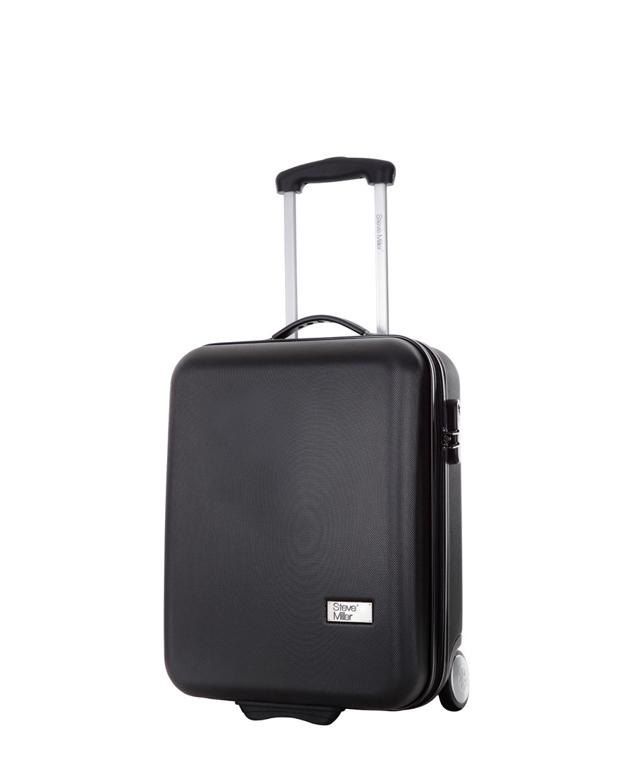 Black upright suitcase 48cm Sale - steve miller