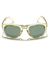 Seaweed green frame sunglasses