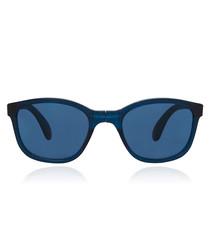 Tonga deep blue foldable sunglasses